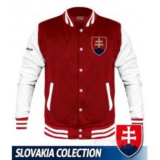 Univerzitná bunda Slovakia - červená