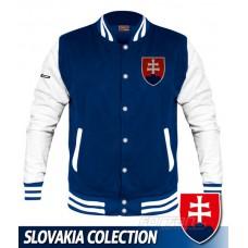 Univerzitná bunda Slovakia - royal modrá