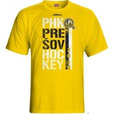 Tričko PHK 3b Prešov New 8 - svetlo žltá