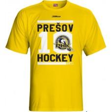 Tričko PHK 3b Prešov New 6 - svetlo žltá