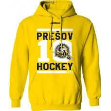 Bavlnená mikina s kapucňou PHK 3b Prešov New 6 - žltá
