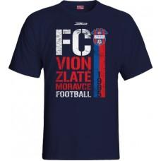 Tričko FC ViOn Zlaté Moravce vz. 8 - modrá–tmavomodrá