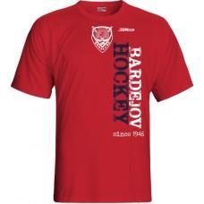 Tričko HC 46 Bardejov vz. 2 - červená