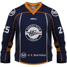 Hokejový dres HC Košice 2014/15 Replica Simple tmavá verzia bez reklám