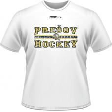 Tričko PHK 3b Prešov - hockey - biela