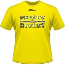 Tričko PHK 3b Prešov - hockey - svetlo žltá