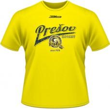 Tričko PHK 3b Prešov  retro - svetlo žltá