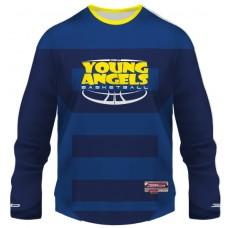 Krycí Basketbalový dres Young Angels - tmavá verzia
