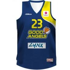 Basketbalový dres Good Angels - tmavá verzia
