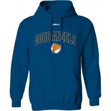 Mikina s kapucňou Good Angels vz. 2 - royal modrá