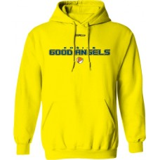 Mikina s kapucňou Good Angels vz. 4 - žltá