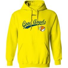 Mikina s kapucňou Good Angels vz. 5 - svetlo žltá