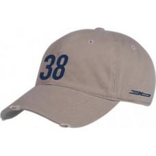 Šiltovka 38 -  sivá