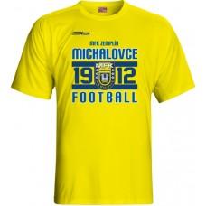 Tričko  MFK Zemplín Michalovce vz. 5 - žltá