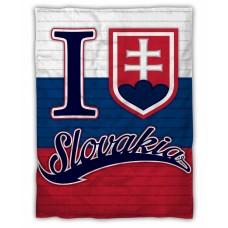 Zateplená prikrývka + deka v jednom Slovensko 150cm x 200cm