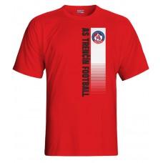 Tričko AS Trenčín vz. 4 - červená