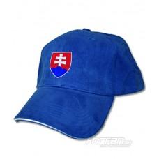 Slovensko šiltovka - modrá
