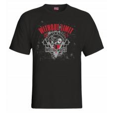 Tričko Motocross vz. 3 - čierna