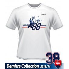 Tričko Pavol Demitra - Slovensko  verzia 8 - biela