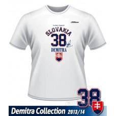 Tričko Pavol Demitra - Slovensko verzia 7 - biela
