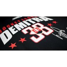 Tričko Pavol Demitra verzia 16 - modrá–tmavomodrá