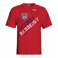 Tričko HC 46 Bardejov vz. 5 - červená