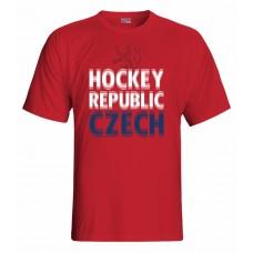 Tričko Czech republic vz. 15 - červená