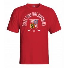 Tričko Czech republic vz. 14 - červená