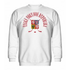 Mikina bez kapucne Czech vz. 16 - biela