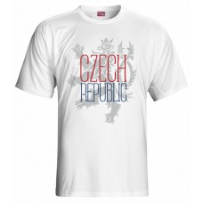 Tričko Czech republic vz. 17 - biela