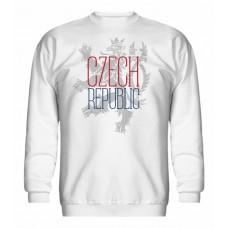 Mikina bez kapucne Czech vz. 17 - biela