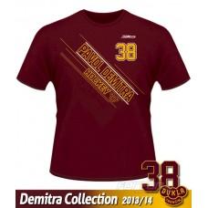 Tričko Pavol Demitra - DT verzia 11 - bordová