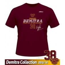 Tričko Pavol Demitra - DT verzia 10 - bordová