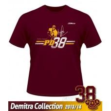 Tričko Pavol Demitra - DT verzia 8 - bordová