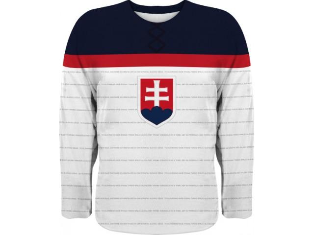 Hokejový dres replica simple svetlá - DŽUPINA 29