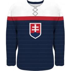 Hokejový dres Slovensko 0116 - modrá–tmavomodrá