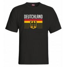 Tričko  Nemecko vz. 1 - čierna
