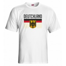 Tričko  Nemecko vz. 1 - biela