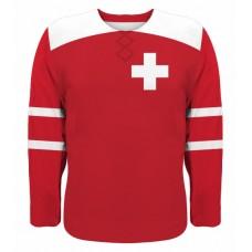 Švajčiarsko hokejový dres, vz. 1