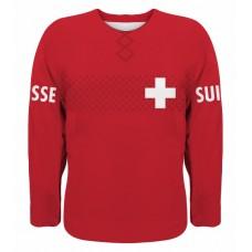 Švajčiarsko hokejový dres, vz. 2