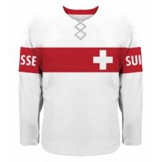 Švajčiarsko hokejový dres, vz. 3