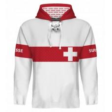 Sublimovaná mikina Švajčiarsko vz. 2