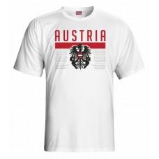 Tričko Rakúsko vz. 1 - biela