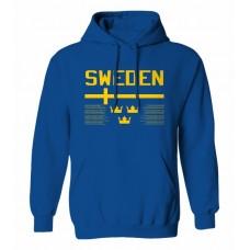 Mikina s kapucňou Švédsko vz. 1 - royal modrá