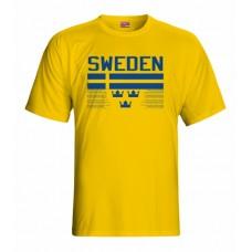 Tričko Švédsko vz. 1 - tmavo žltá