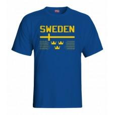 Tričko Švédsko vz. 1 - royal modrá
