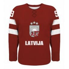 Lotýšsko - fanúšikovský dres vz. 1