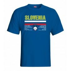 Tričko Slovinsko vz. 1 - royal modrá