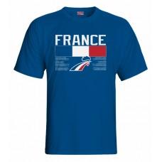Tričko Francúzsko vz. 1 - royal modrá