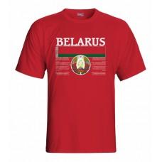 Tričko Bielorusko vz. 1 - červená